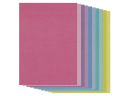 Groovi Two Tone A5 Coloured Parchment Paper - Mixed 20 Sheets