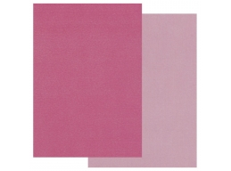 Groovi Two Tone A5 Coloured Parchment Paper - Pink 20 Sheets