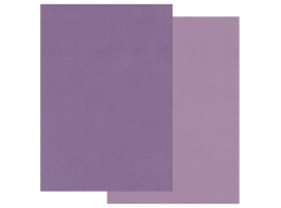 Groovi Two Tone A5 Coloured Parchment Paper - Purple 20 Sheets