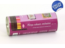 Pergamano Perga Colours - 30 x Water Based Markers | Art of Stourbridge