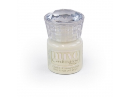 Nuvo Embossing Powder - Crystal White - 603N