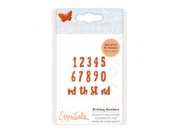 Essentials - Birthday Numbers - 1592E