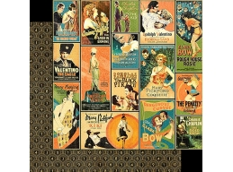 Graphic 45 - Vintage Hollywood - Tinseltown 12x12
