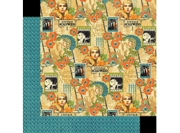 Graphic 45 - Vintage Hollywood - Dazzling Diva 12x12