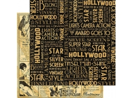 Graphic 45 - Vintage Hollywood - Silver Screen  12x12
