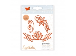 Tonic Studios - Essentials - Flowers & Flourishes - Rossini's Spray - 1758e