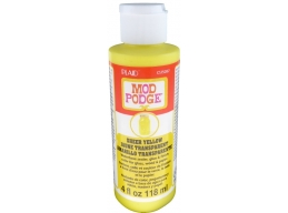 Mod Podge Sheer Color Yellow 4 oz.