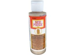 Mod Podge Sheer Color Brown 4 oz.