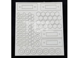 Tando Creative - Andy Skinner Industrial Elements Bolts/Washers sheet