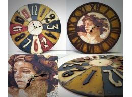 Tando Creative - Andy Skinner Reversible Clock Large