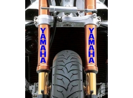 Reflective Yamaha Fork Leg Sticker Decal | Stick and Glow Reflective Decals