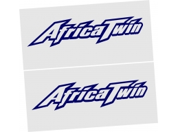 REFLECTIVE Honda Africa Twin XRV 750 Decal Sticker x2 | Stick and Glow Reflective Decals
