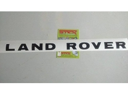1x Reflective LAND ROVER BONNET LETTERS LETTERING BADGES DISCOVERY 1 & 2 TDI TD5 | Stick and Glow ..