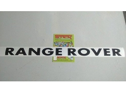 1x Reflective RANGE ROVER BONNET LETTERS LETTERING BADGES DISCOVERY 1 & 2 TDI TD5 | Stick and Glow..