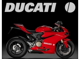 2x Reflective Ducati 1299 1199 1098 999 998 916 899 748 Fairing Decal Sticker | Stick and Glow Ref..