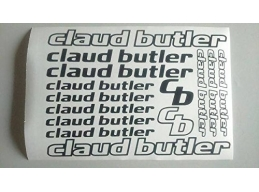 Reflective Claud Butler Die-cut decal / sticker sheet | sag298 | Stick and Glow Reflective Decals