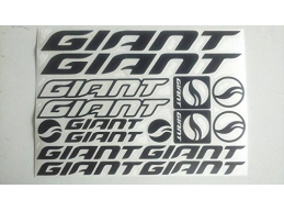 Reflective Giant Die-cut decal / sticker sheet cycling, mtb, bmx, road, bike | sag304 | Stick and ..