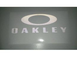 1x Reflective OAKLEY SURF - Car, Truck, Notebook, Skateboards, Vinyl Decal Sticker | Stick and Glo..