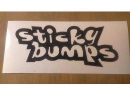 1x Reflective STICKY BUMPS SURF - Car, Truck, Notebook, Skateboards, Vinyl Decal Sticker | Stick a..