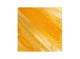 Gold Foil Iridescent Square Pattern