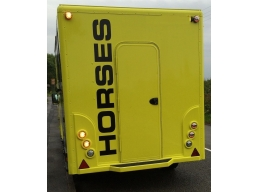 3.5T Horsebox Decal Movano Renault Master XXL Large Horses Decal 6'x1' HORSES | Stick and Glow Ref..