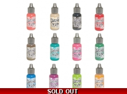 SUMMER 2017 RELEASE: Tim Holtz Distress Oxides Reinkers, Set of 12 - PRE ODER