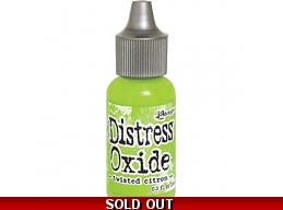 Twisted Citron , Tim Holtz - Distress Oxide Reinkers