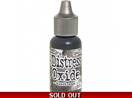 Black Soot , Tim Holtz - Distress Oxide Reinkers