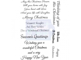 Sweet Dixie May this Christmas Season - Clear Stamps