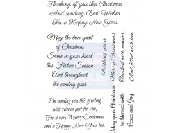 Sweet Dixie Thinking of You this Christmas - Clear Stamps