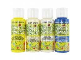 Decoart Patio Outdoor Paint 4 Set - Essentials