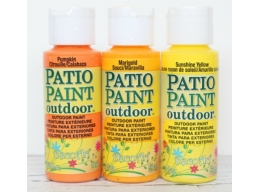 Decoart Patio Outdoor Paint 3 Set - Brights