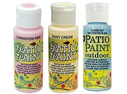 Decoart Patio Outdoor Paint 3 Set - Seaside Pastels