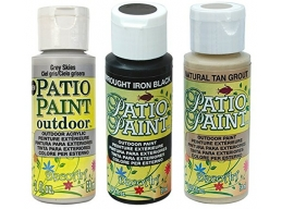 Deco Art Patio Outdoor Paint 3 Set - Natural Neutrals