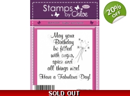 Stamps by Chloe - Sugar and Spice