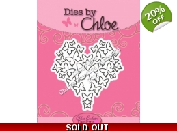 Dies by Chloe - Butterfly Heart Die