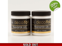 Therm-o-web Deco Foil™ Twin Pack Transfer Gel - 2 x 4fl oz Pots
