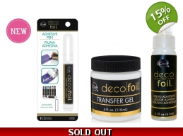 Therm-o-web Deco Foil™ Adhesives Pack - Transfer Gel, Adhesive Pen & Liquid Adhesive