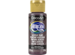 Black Plum - 2oz DecoArt Americana Acrylic Paint