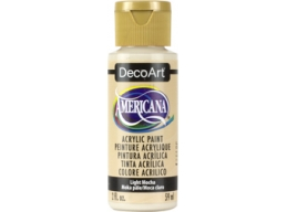 Light Mocha - 2oz DecoArt Americana Acrylic Paint