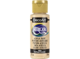Toffee - 2oz DecoArt Americana Acrylic Paint