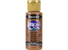 Raw Sienna - 2oz DecoArt Americana Acrylic Paint