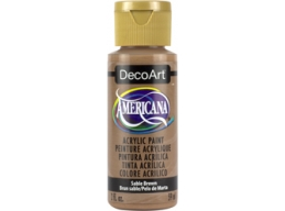 Sable Brown - 2oz DecoArt Americana Acrylic Paint