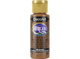 Milk Chocolate - 2oz DecoArt Americana Acrylic Paint