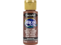 Traditional Burnt Sienna - 2oz DecoArt Americana Acrylic Paint