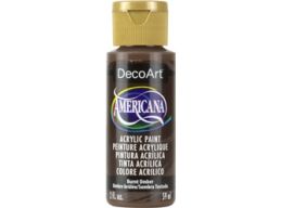 Burnt Umber - 2oz DecoArt Americana Acrylic Paint