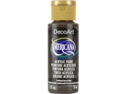 Traditional Burnt Umber - 2oz DecoArt Americana Acrylic Paint