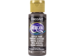 Charcoal Grey - 2oz DecoArt Americana Acrylic Paint