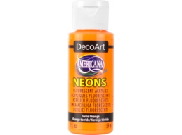 Torrid Orange Neon - 2oz DecoArt Americana Acrylic Paint