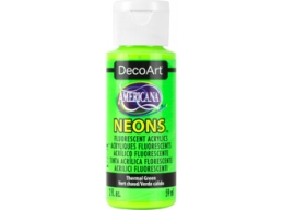 Thermal Green Neon - 2oz DecoArt Americana Acrylic Paint